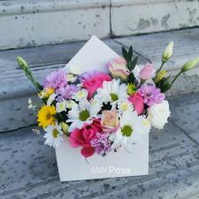 Цветочный конверт №1