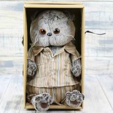 Кот Басик в шелковой пижаме