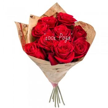 Букет №86  | Букет красных роз