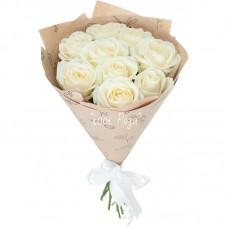 №12 | Букет белых роз