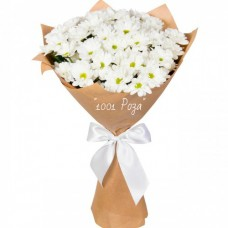 №14  | Букет белых хризантем
