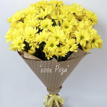 №15   Букет желтых хризантем