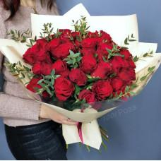 Букет №190 красные розы