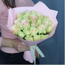 Букет №200 розовые розы