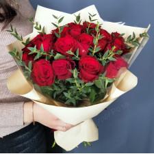 Букет №189 красные розы
