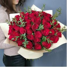 Букет №191 красные розы