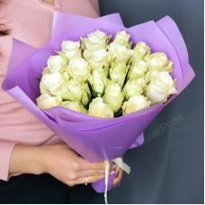 Букет №199 белые розы