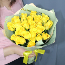 Букет №202 желтые розы
