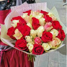 Букет №133 Букет из 25 роз