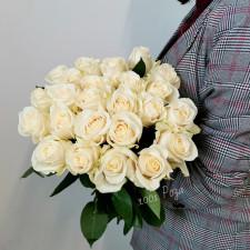 Роза кремовая 50 см