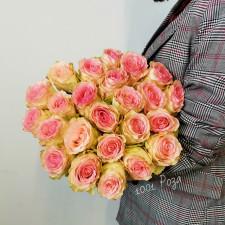 Роза нежно-розовая 50 см