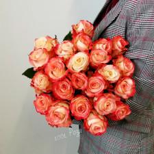 """Роза персиковая """" 50см"""