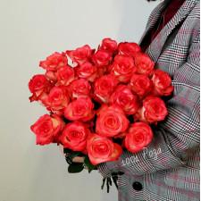 Роза коралловая 50 см