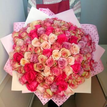 Букет №104 | 101 роза