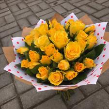 Букет №106 | Букет желтых роз