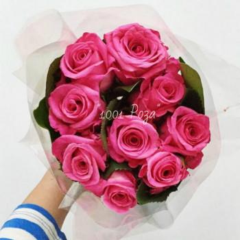 Букет №123   Розовые розы
