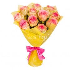 Букет №129 | Букет белых роз
