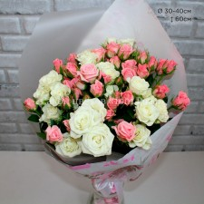 Букет № 65 из Кустовых роз