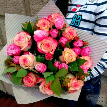 Букет № 73 Розы 50 см