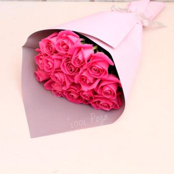 Букет №97 | Букет розовых роз