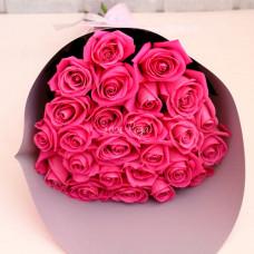 Букет №98 | Букет розовых роз