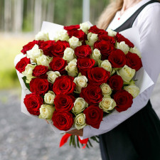 """Роза """"Аппер"""" и """"Атена"""" 40 см"""