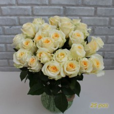 """Роза """"Крем"""" 40 см"""
