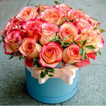 Коробка №23 | 25 роз в коробке