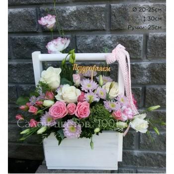 Ящик с цветами №2