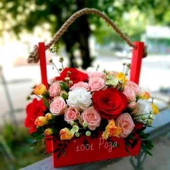 Ящик №5 | Купить деревянный ящик с цветами
